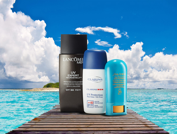 men's sunscreen