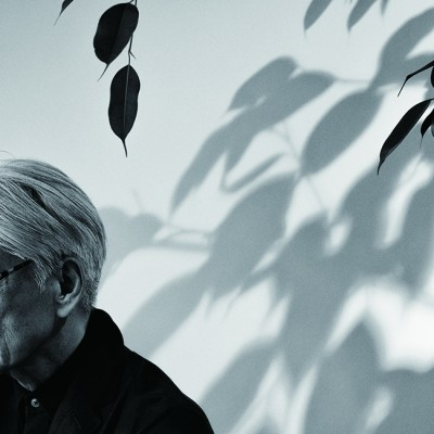 "Ryuichi Sakamoto, a world-renowned artist, attends the VIP opening for his exhibition ""Ryuichi Sakamoto: Life, Life"" at the new gallery Piknic in Seoul, South Korea on May 24, 2018. Ryuichi Sakamoto is a Japanese musician, composer, record producer and activist based in New York, and he has won numerous awards like Academy Award, Grammy, BAFTA, Golden Globe Awards for film scores which he composed and produced. The exhibition includes not only his latest music album ""async"" but also co-works with other artists like German electronic musician Alva Noto, Japanese media artist Shiro Takatani, Thai filmmaker Apichatpong Weerasethakul and legendary artist Nam June Paik. The exhibition opens on May 26, 2018, to Oct. 14, 2018, to the public."