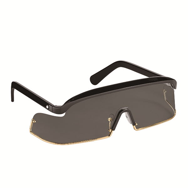 고글 형태의 렌즈를 장착한 인피니비 선글라스 79만원대 루이 비통.
