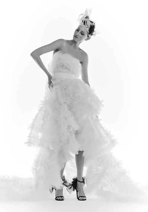 Bride in bloom